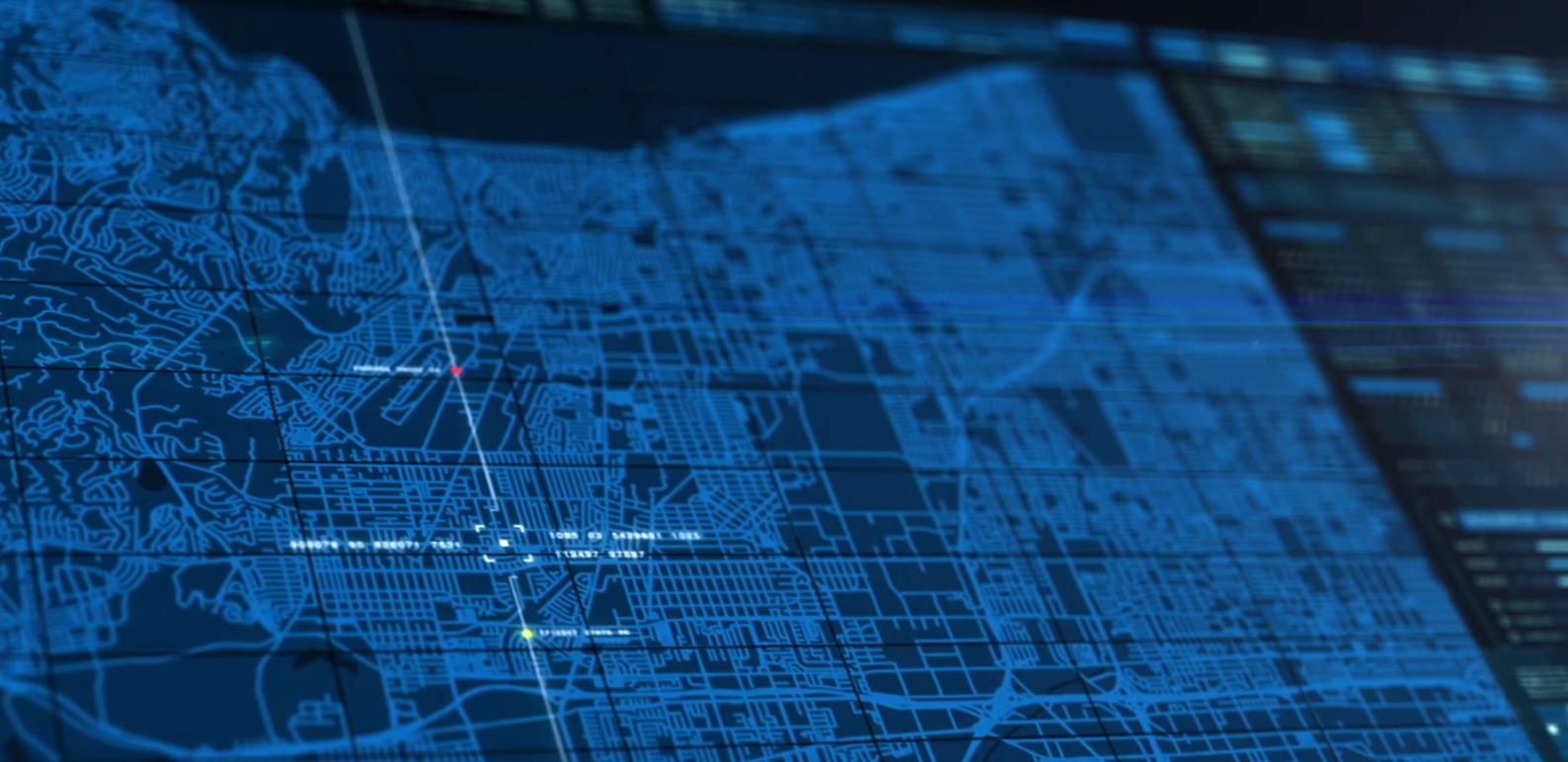 road map data