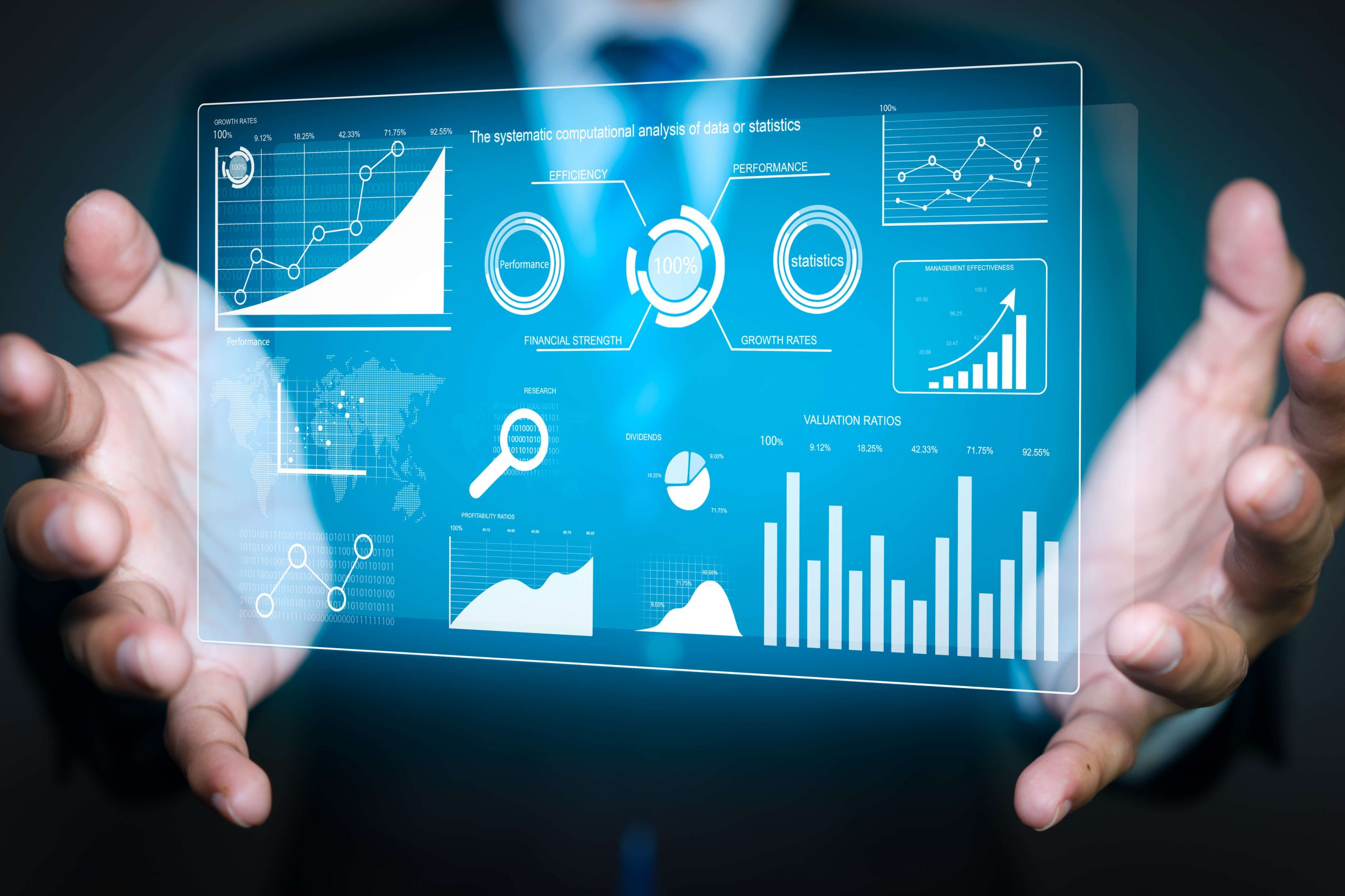 statistics digital hands michelin